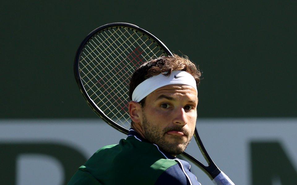 Най-добрият български тенисист Григор Димитров се изкачи със седем места