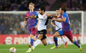"""НА ЖИВО: Барселона 2:1 Валенсия, пълен обрат на """"Камп Ноу"""""""