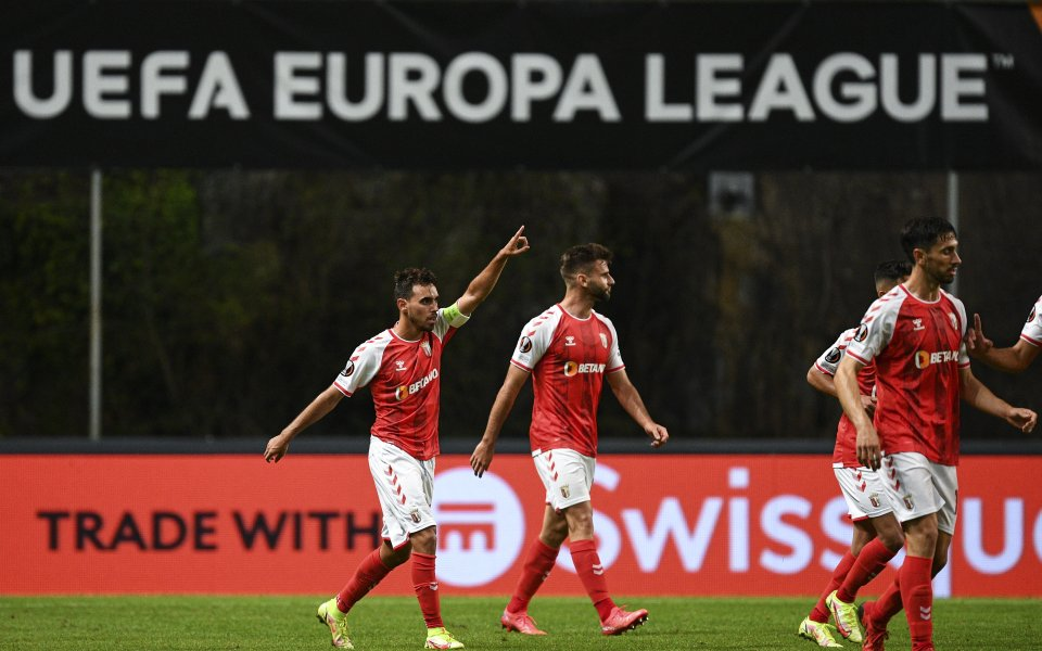 Съперникът на Лудогорец в Лига Европа – Брага, кацна във