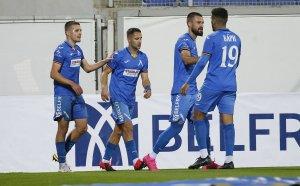 """НА ЖИВО: Левски 2:0 Пирин, втори гол на Марин Петков, греда и за """"сините"""""""