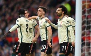НА ЖИВО: Ман Юнайтед 0:4 Ливърпул, принудителна смяна за гостите