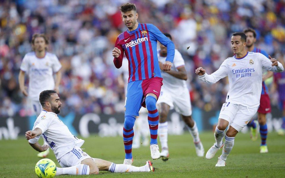 Централният защитник на Барселона Жерард Пике е твърд в намерението