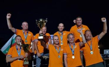 Холандци спечелиха Световното първенство по риболов Пловдив