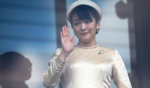 Принцеса Мако се сбогува с роднините си