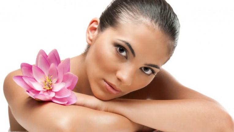 спа процедура лице орхидея красота кожа