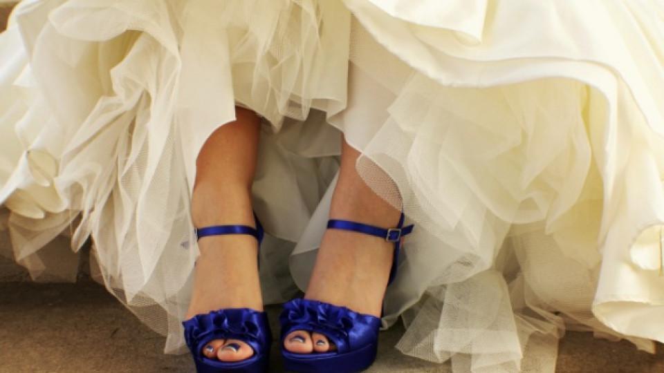 Как да изберем обувки за сватбения си ден
