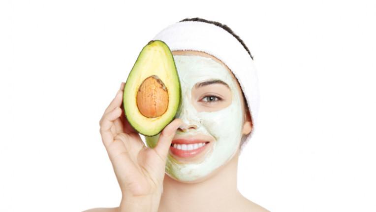 авокадо кожа маска