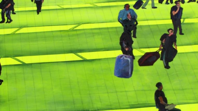 живопис Галерия за модерно изкуство Калия Калъчева изложба неонови цветове