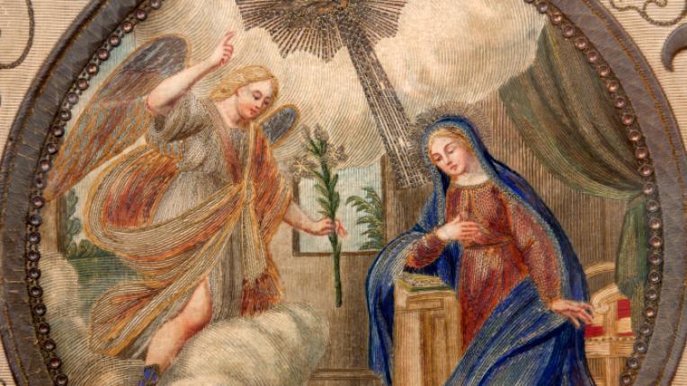 Благовещение архангел гавраил