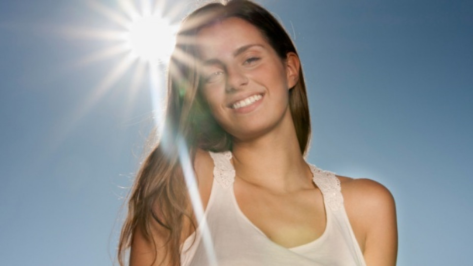 Коса, защитена от слънцето
