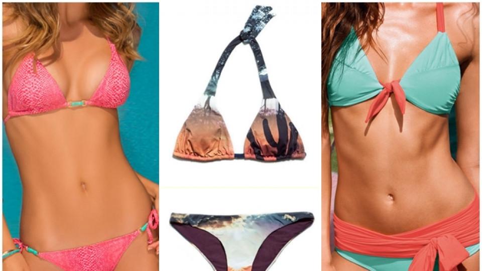 Бански костюми – тенденции лято 2013