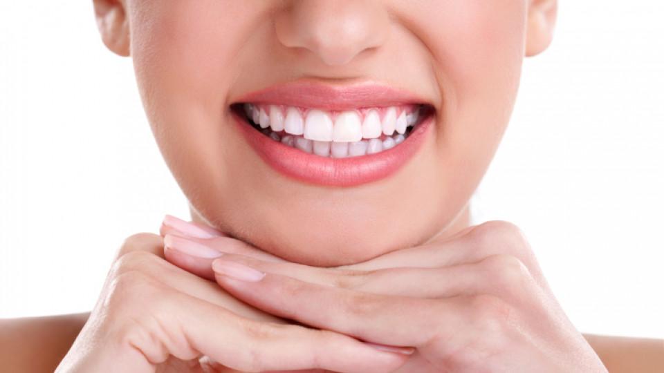 Храни за бели зъби