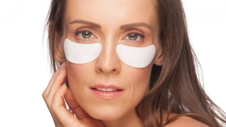 подпухнали очи био козметика масаж грим коректор лавандула съвети органик