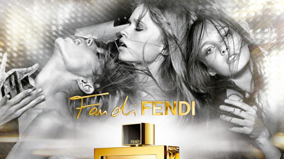 Аня Рубик, Кармен Педару и Аби Лий Кершоу - трите музи на бляскавото ароматно творение Fan di Fendi