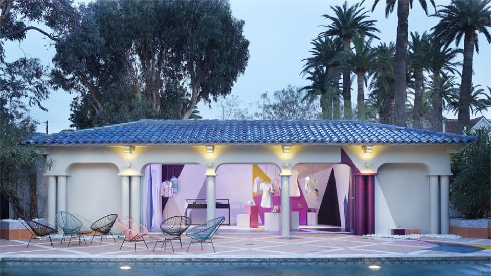 """Лятната резиденция бутик на """"Шанел"""" в Сен Тропе е отворена от 28 април до 7 октомври"""