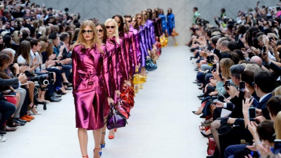 """Представяне на колекцията за сезон пролет/лято 2013 на британската модна къща """"Бърбъри"""" (""""Burberry"""")"""