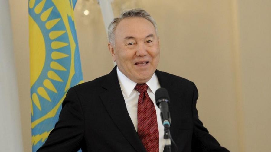 Нурсултан Назърбаев