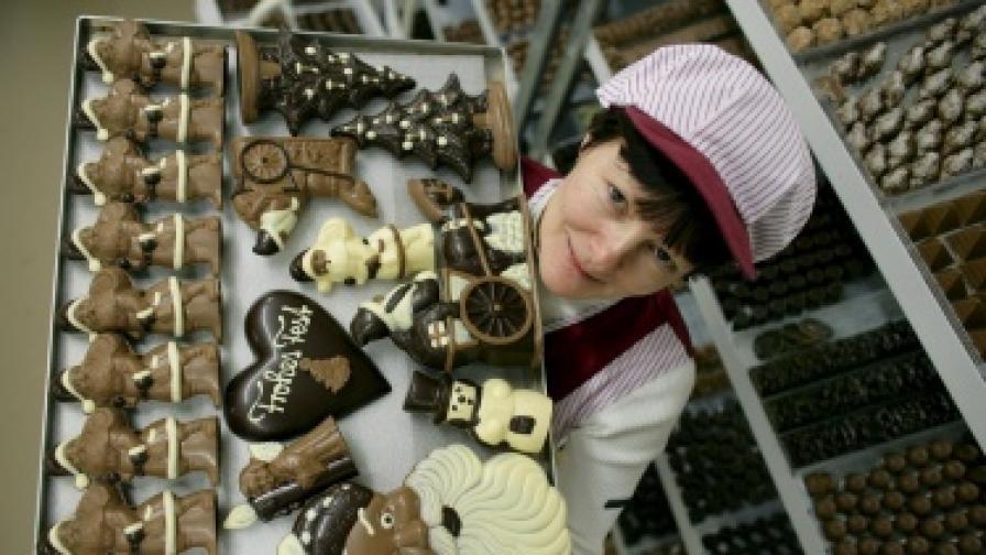 Шоколадът ни теши в кризата
