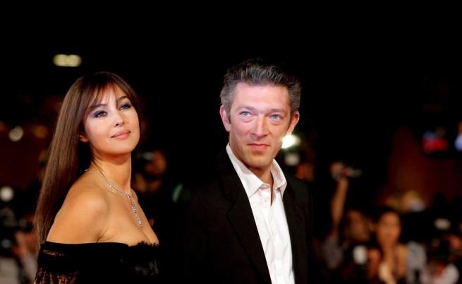 Монка Белучи със съпруга си Венсан Касел