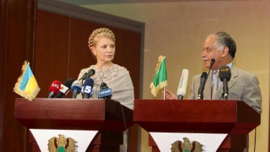 Либия и Украйна подписаха за ядрено сътрудничество