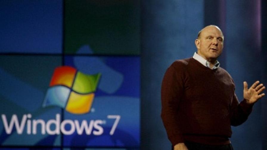 """Шефът на """"Майкрософт"""" Стив Балмър"""
