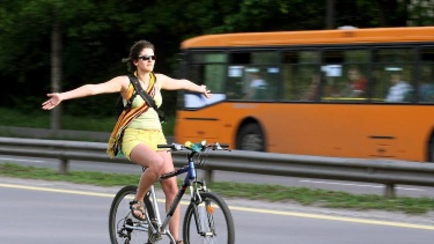 За велосипедистите вече има две нови трасета