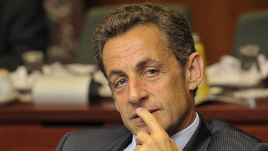 Френският президент Никола Саркози