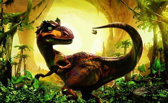 3D динозаври в новата