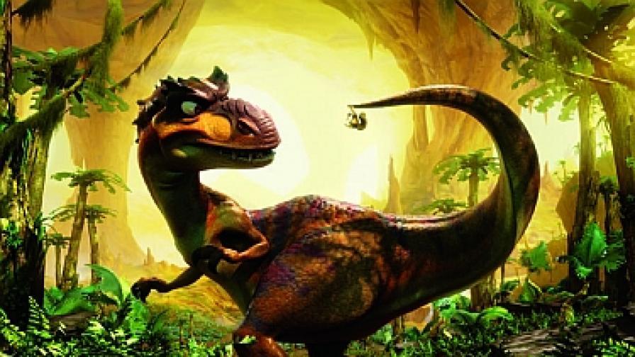 """В """"Ледена епоха-3"""" е зората на динозаврите"""