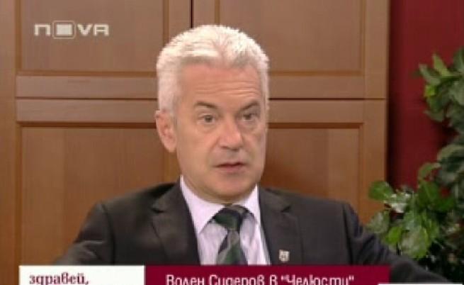 Сидеров ще променя Борисов
