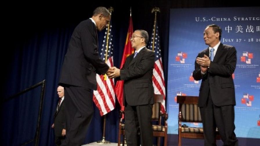 Обама: САЩ и Китай трябва да работят заедно