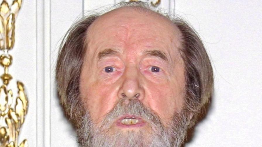 Една от последните снимки на Александър Солженицин