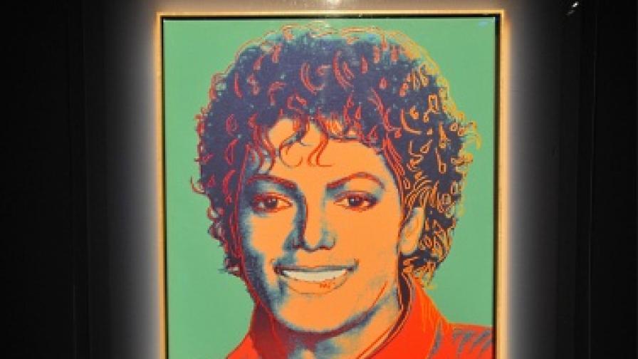 Портретът на Джако, рисуван от Анди Уорхол, ще бъде предложен на търг в Ню Йорк. Началната цена е 800 хил. долара