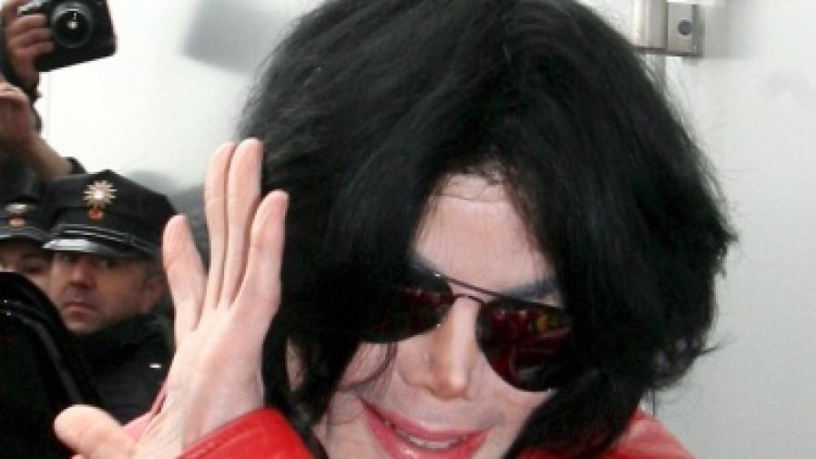 Майкъл Джаксън през 2006 г.