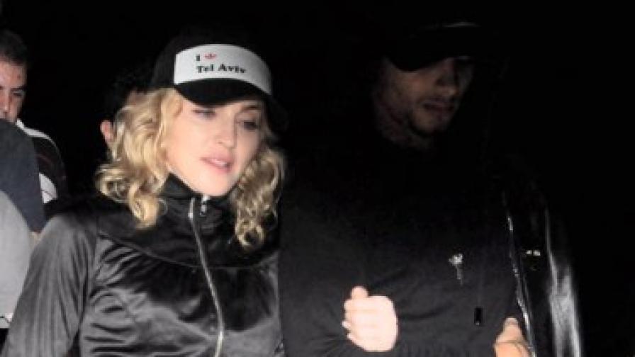 Мадона: По-добре влак, отколкото съпруг