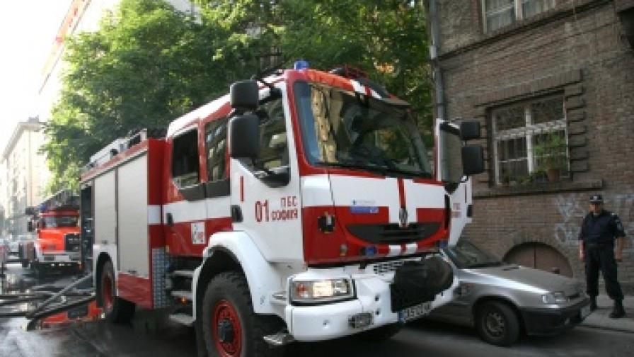 Пожар горя в Арменското училище във Варна