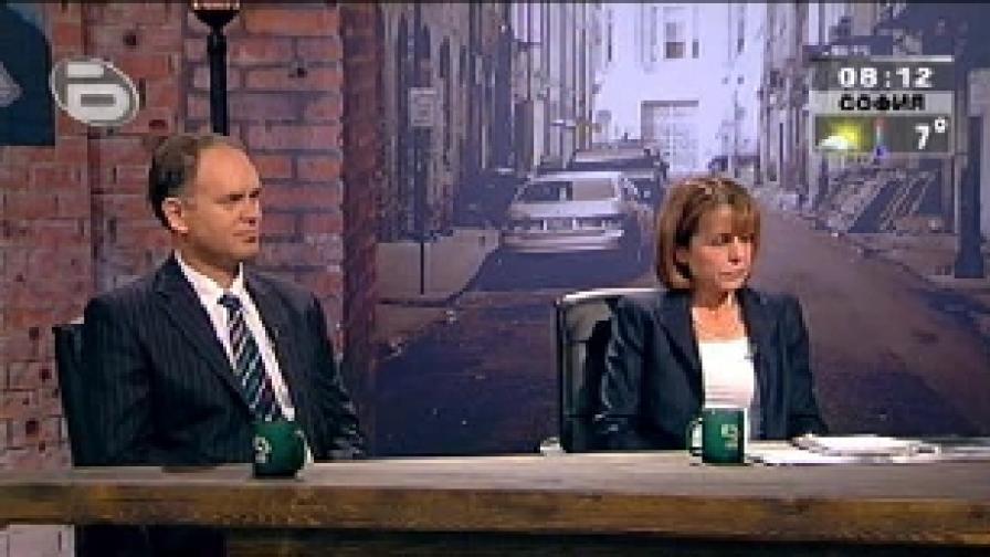 Фандъкова и Кадиев в предизборен дебат