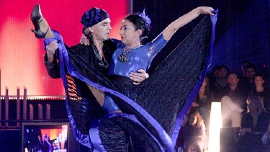 """Анелия и Ники отпаднаха преди големия финал на """"ВИП денс"""""""
