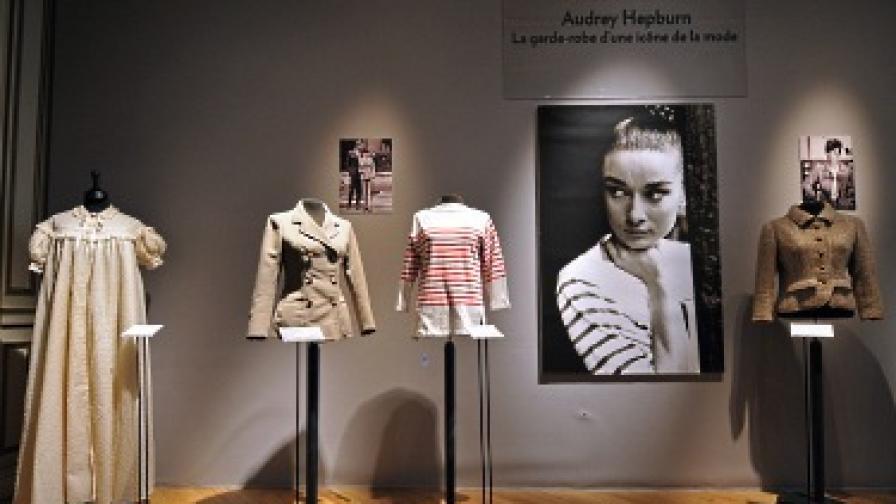 Разпродадоха гардероба на Одри Хепбърн