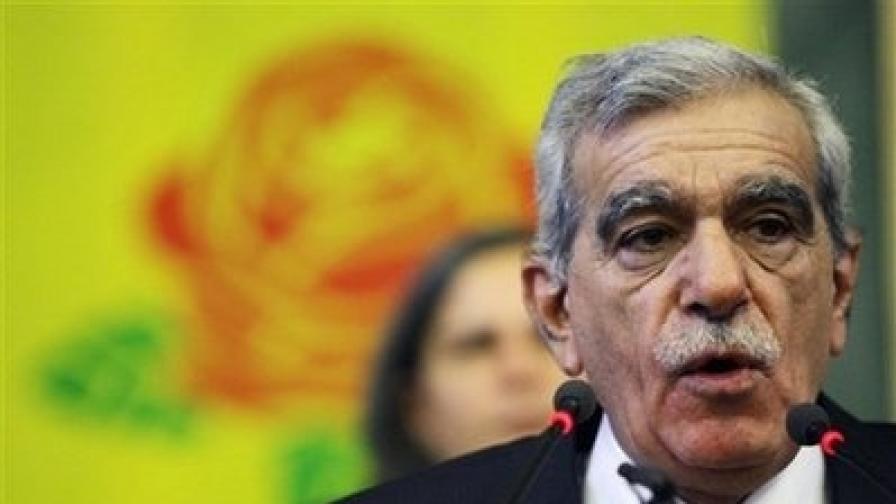 В Турция забраниха прокюрдска партия