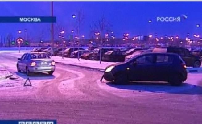 Рекорден сняг в Москва