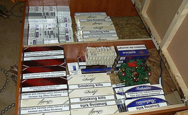 Иззеха 5 млн. къса контрабандни цигари