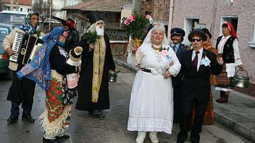 Празничен обичай във Велико Търново