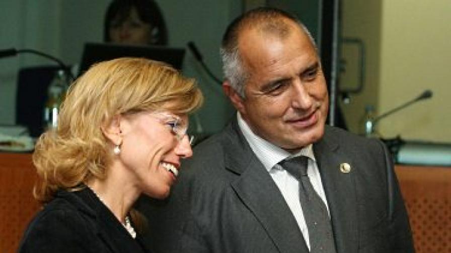 Борисов: Желева падна в капан на БСП