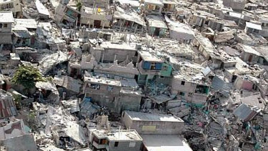 Българка преживяла ужаса в Хаити