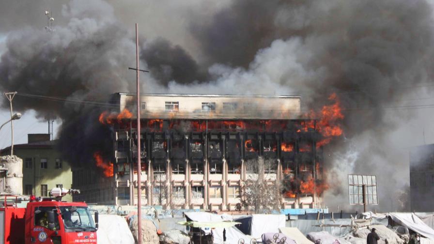 Кабул под координирана талибанска атака