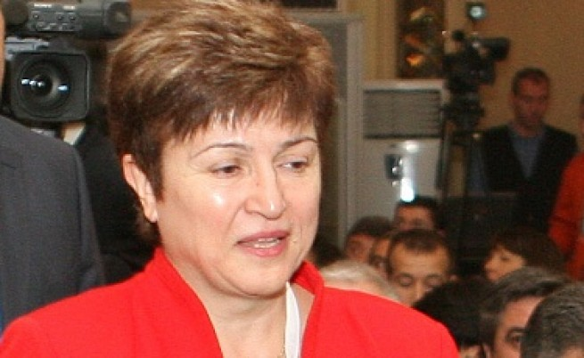 Барозу одобри Кристалина Георгиева