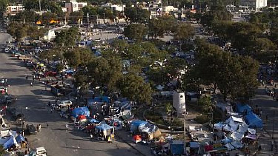 Хаитянската столица след земетресението