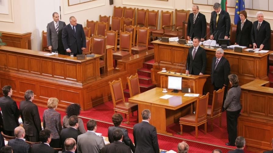 Новите министри се заклеха