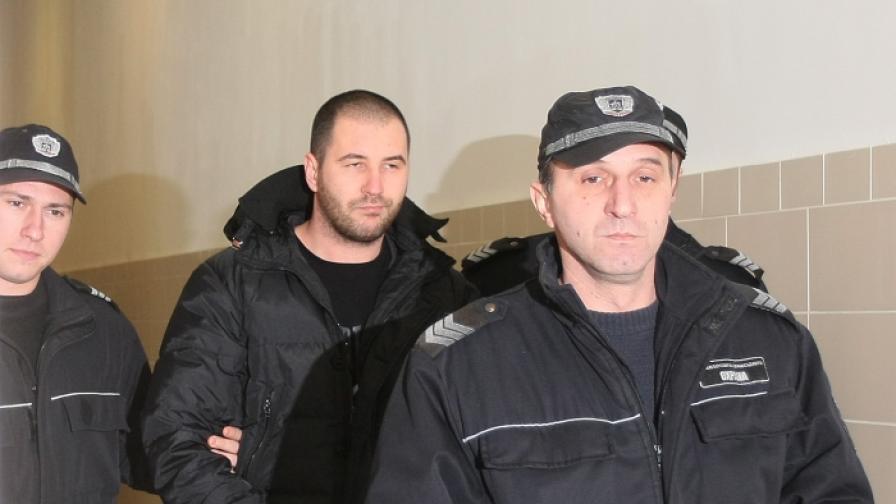 Ивайло Борисов-Ториното в съда през 2010 година